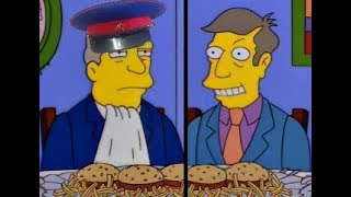 Steamed Hams, But Seymour is a Kulak and Chalmers is an NKVD agent