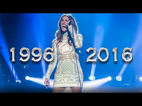 "Celine Dion And The Way To End ""All By Myself"" With High Notes Through Out The Years"