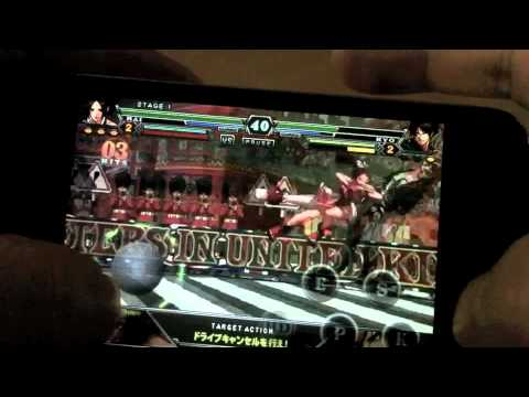 Touch Mai With The King Of Fighters iPhone