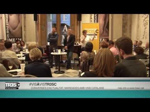 4rt #VisàVisTR3SC amb Jordi Pujol i vins de Roig Parals