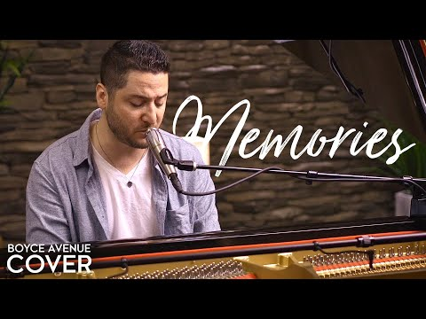 Memories / Canon In D - Maroon 5 (Boyce Avenue piano acoustic cover) on Spotify & Apple