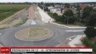 Wideo1: Zobacz, jak zmienia się ulica Szybowników w Lesznie