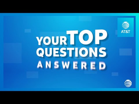 AT&T Answers Your Frequently Asked Questions-YoutubeVideoText