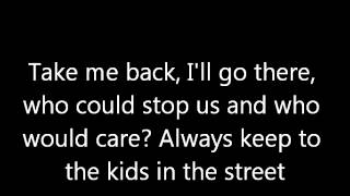 Kids in the Street - The All-American Rejects (lyrics)