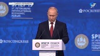 Владимир Путин отметил Новгородскую область, как одного из лидеров в улучшении инвестиционного климата