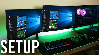 How To Setup Dual Monitors Windows 10 (Full Tutorial) | How To Set Up Two Monitors To One PC