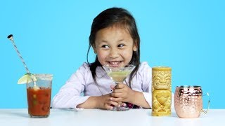 Kids Try Mocktails | Kids Try | HiHo Kids