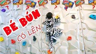 BÉ BÚN NGỰA VẰN – BÉ BẮP HƯƠU CAO CỔ ĐI CHƠI KHU VUI CHƠI TRẺ EM | Indoor Playground for Kids
