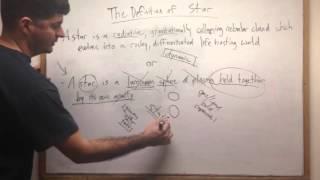 The Definition of Star, Stellar Metamorphosis