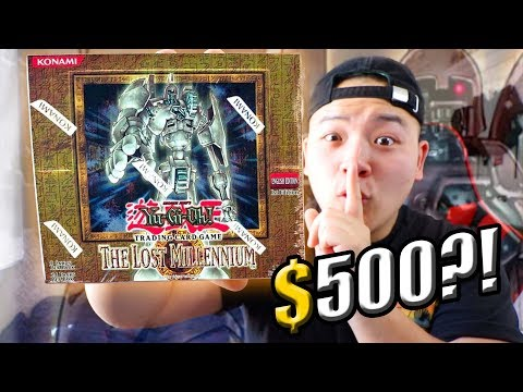 THE $500 YUGIOH BOOSTER BOX OPENING!