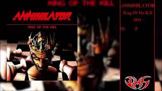 ANNIHILATOR King Of The Kill (Full Album) 4K/UHD