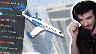 Can Twitch Chat FLY AN AIRPLANE across GTA 5?