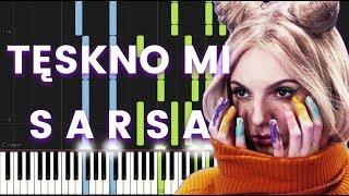 Sarsa   Tęskno Mi   Piano Tutorial