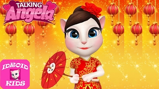 My Talking Angela Gameplay Level 468 - Great Makeover #256 - Best Games For Kids