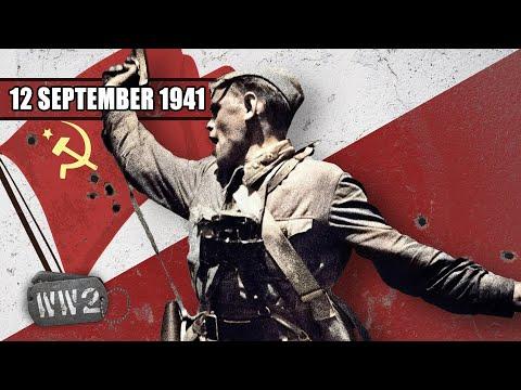 Sovětské vítězství u Jelni - Druhá světová válka