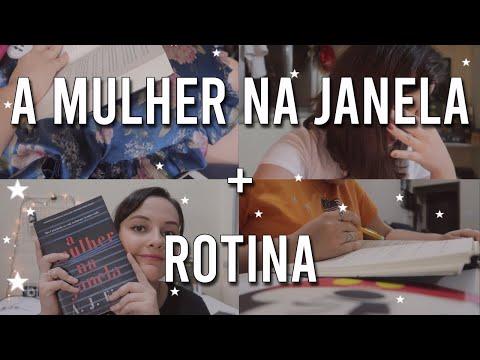 Vlog: Leitura A Mulher na Janela, Comprinhas, Visitas e Docinhos recebidos || Diário Galáctico