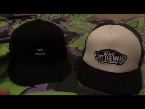 RVCA and Vans trucker hats review