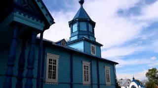 preview picture of video 'Podlasie (29) Narew - cerkiew pw. Podwyższenia Krzyża Świętego 8.05.2012'