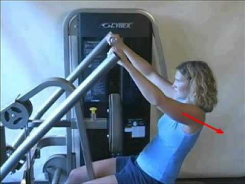 Cybex Eagle - Incline Pull