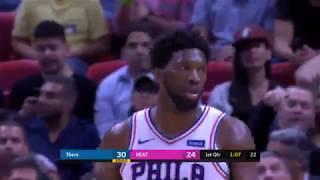 Philadelphia 76ers vs Miami Heat   November 12, 2018