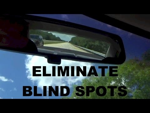 The Best Way to Set Your Car Mirrors to Avoid Blind Spots
