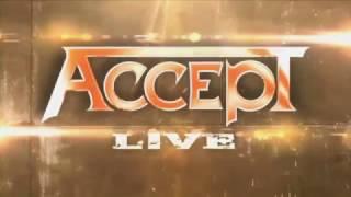 Accept live - No Shelter with English/Deutsch/Português  lyrics