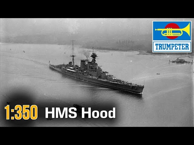 350 Kit de Pl/ástico Trumpeter 05302 HMS Hood 1