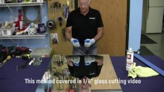 "Glass Cutting with Guy (Part 2 - 1/4"" Mirror)"