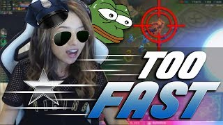 THE FASTEST WARWICK | Pokimane