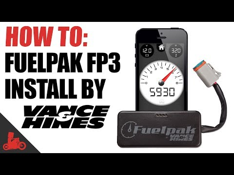How To: Vance & Hines Fuelpak FP3 Install (Harley-Davidson) Mp3