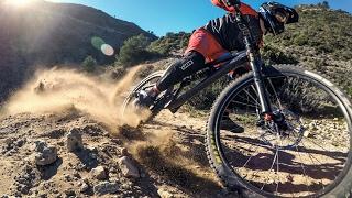 100% GoPro HERO4Black with Zhiyun-Tech Rider-M Gimbal - Monte Calamorro Trail