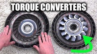 How Torque Converters Work - Automatic Transmissions