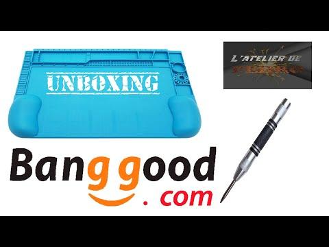 unboxing colis banggood
