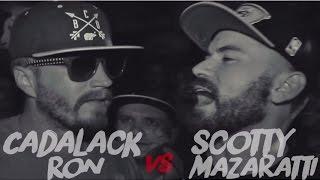 Cadalack Ron Vs Dj Penn Ahat Cali Rap Battle