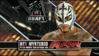 Rey Mysterio Drafted to Raw 2011
