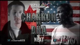 KOTD - Rap Battle - Charron vs DNA