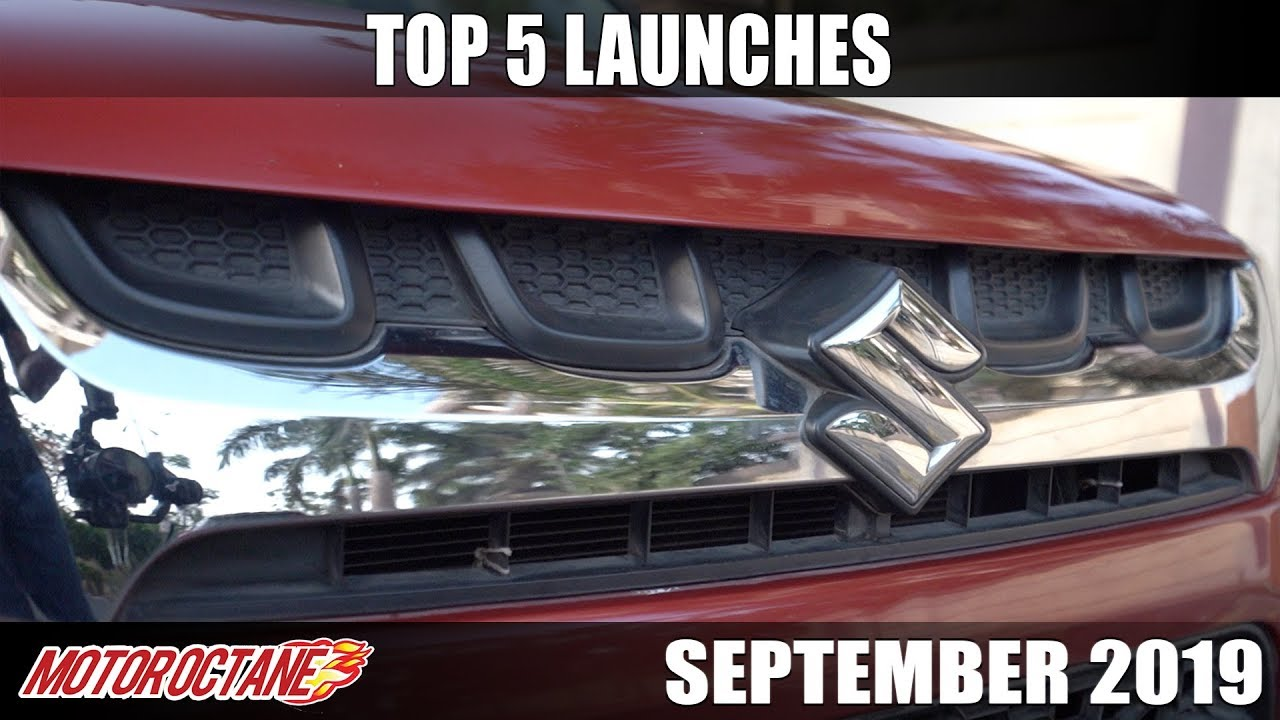 Motoroctane Youtube Video - Top 5 Car Launches this month | Hindi | MotorOctane