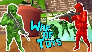 БИТВА ИГРУШЕЧНЫХ СОЛДАТИКОВ В ДОМЕ | War Of Toys