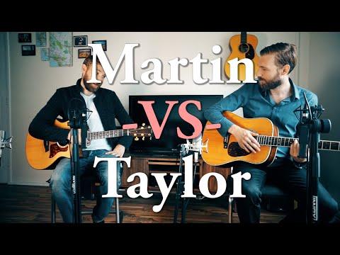 Martin VS Taylor | High End Comparison