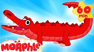 My Pet Crocodile  Learn About Real & Pretend + 1 Hour My Magic Pet Morphle Compilation For Kids