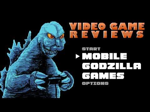 MIB Video Game Reviews Ep 1:  Mobile Godzilla Games