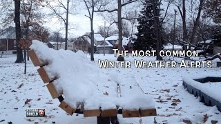 Winter Weather Alerts Explained