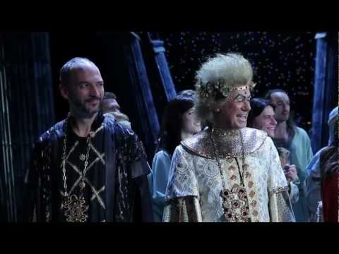 The 100 000th spectator of the rock opera Jesus Christ Superstar - December 1, 2011