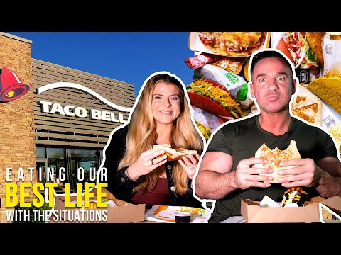 Download The Taco Bell Cheat Day Train Wreck | EATING OUR BEST LIFE Mp4 HD Video and MP3