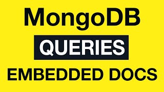10 MongoDB Queries - Query Embedded Documents