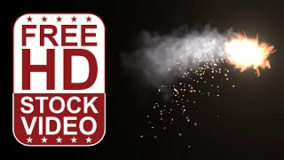 fire sparks - green screen footage free - Free Online Videos