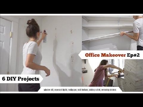 Tackling 6 DIY's | Home Renovation Office Makeover Ep#2 | Momma From Scratch