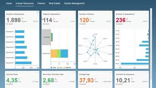 KPI-Dashboard with SAP Lumira 2.1
