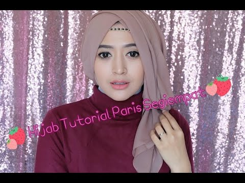 Video #64 Hijab Tutorial Paris Segiempat (Semi Formal) - Natasha Farani