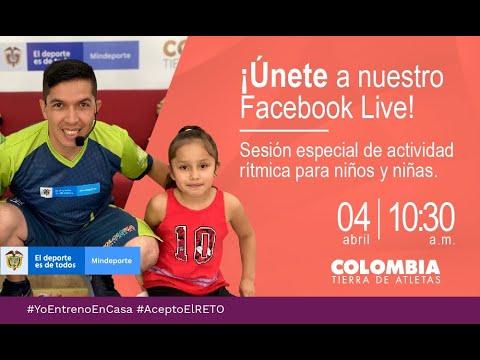 #YoEntrenoEnCasa: sesión de actividad rítmica para niños y niñas